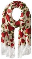 Betsey Johnson Avantgard Rose Wrap