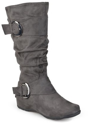 Brinley Co. Women's Slouchy Wide Calf Boots