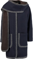 See by Chloe Wool-blend hooded coat