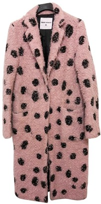 Front Street 8 Pink Wool Coats