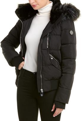 Noize Rose Bomber Jacket