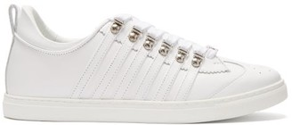 DSQUARED2 251 Leather Trainers - White