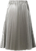 No.21 pleated midi skirt - women - Polyester/Polyurethane - 42