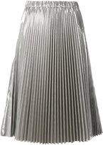 No.21 pleated midi skirt - women - Polyester/Polyurethane - 42