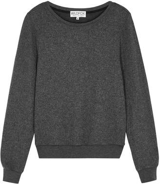 Wildfox Couture Dark Grey Melange Sweatshirt