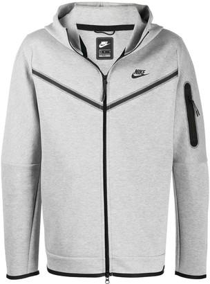 Nike Logo-Print Zip-Up Hoodie