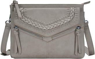 Antik Kraft Braided Faux Leather Crossbody Bag