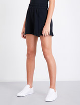 Good American High-rise cotton-jersey shorts