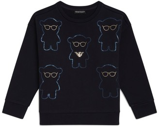 Emporio Armani Kids Manga Bear Sweatshirt