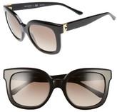 Tory Burch Women's 54Mm Oversized Sunglasses - Black