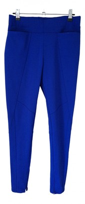 Issey Miyake Blue Trousers for Women