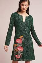 Anthropologie Calliope Sequined Dress