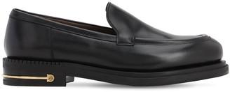 Salvatore Ferragamo Teeth 3 Calfskin Leather Loafers