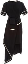 Preen by Thornton Bregazzi Nila Asymmetrical Dress with Belt