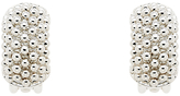 Finesse Textured Clip-On Earrings, Silver