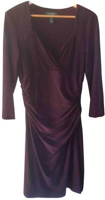 Lauren Ralph Lauren Burgundy Dress for Women
