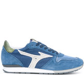 Mizuno ETAMIN BLUE sneakers - men - Cotton/Leather/Polyester/rubber - 39