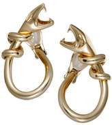 Boucheron 18K Yellow Gold Snake Clip-On Earrings