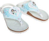 Birkenstock Girls Sumatra Herz Birko-Flor Narrow Fit Sandals Princess Jasmine Blue