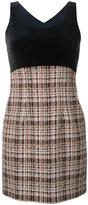 Loveless - plaid sleeveless dress - women - Cotton/Acrylic/Nylon/Wool - 34