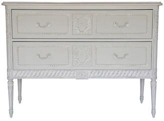 Ave Home Aria 2-Drawer Dresser, Swedish Gray