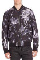 Diesel Blondes Floral Bomber Jacket