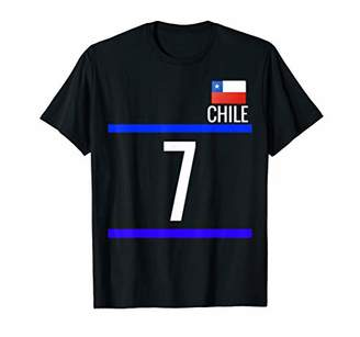 CHILE T shirt Chilean Jersey Soccer Football Camiseta 7