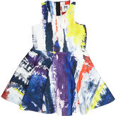 Milly GRAFFITI SLEEVELESS DRESS