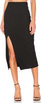 MinkPink Directional Rib Skirt