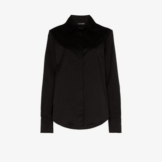 Tom Ford Classic Fit Button-Up Shirt