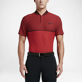 Nike MM Fly Swing Knit Block Alpha Men's Slim Fit Golf Polo