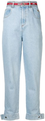 MSGM Faded Slim Jeans