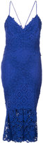 Nicole Miller embroidered dress - women - Silk/Cotton/Nylon/Polyester - 6