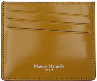 Maison Margiela Black and Yellow Classic Card Holder