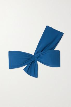 Marysia Swim Venice One-shoulder Stretch-crepe Bikini Top - Azure