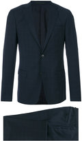 Z Zegna two piece checked suit - men - Cupro/Wool - 48