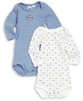 Petit Bateau Baby's Two-Piece Bodysuit Set