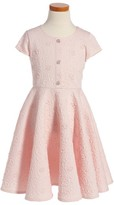 Frais Girl's Textured Scuba Dress