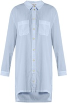 Heidi Klein St Barth step-hem cotton shirtdress