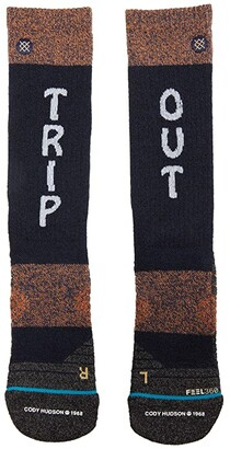 Stance Trip Out Crew (Navy) Crew Cut Socks Shoes