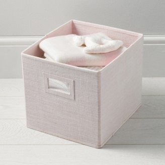 The White Company Storage Cube - Pink, Pink, One Size