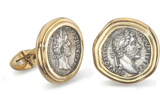 Jorge Adeler Men's 18K Gold Ancient Coin Cufflinks