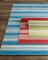 Horchow Striped Flatweave Rug, 4' x 6'