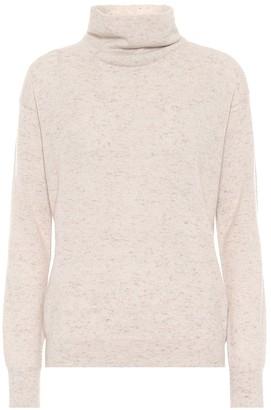Agnona Cashmere mockneck sweater
