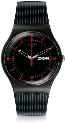 Swatch Gaet - SUOB714 (Black) Watches