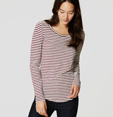 LOFT Striped Layering Tee