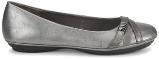 EuroSoft Shaina Metallic Ballet Flat