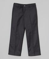 E-Land Kids Gray Dress Pants - Toddler & Boys