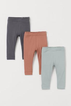 H&M 3-pack Leggings