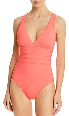 La Blanca Island Goddess Strappy One Piece Swimsuit